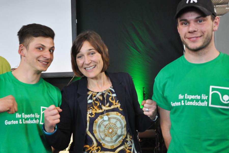 Erfolgreicher erster Azubi-Cup auf der Stuttgarter Messe Garten outdoor und ambiete