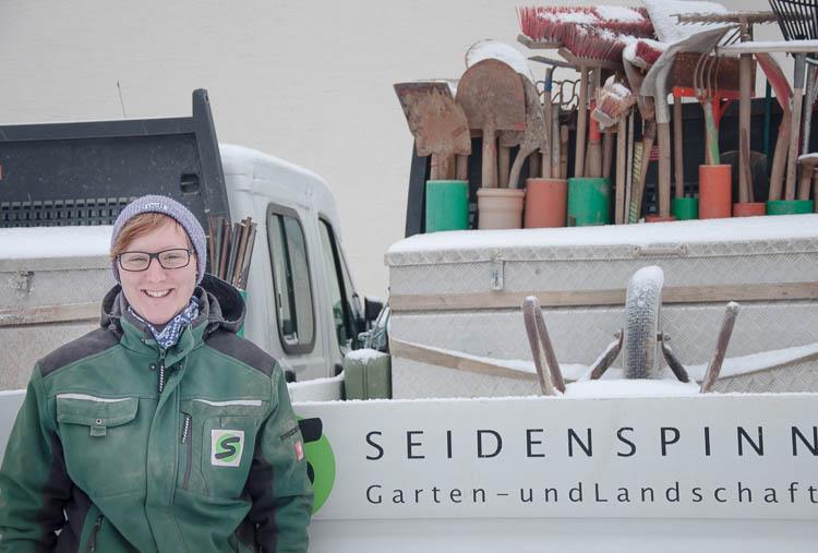 Interview mit einer auszubildenden Landschaftsgärtnerin