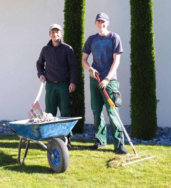 Stellenmarkt Seidenspinner Landschaftsgärtner gesucht