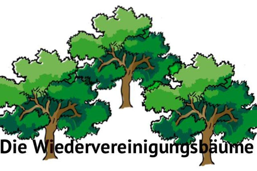 Unterstützung für das (leider) kaum bekannte Denkmal Wiedervereinigungsbäume
